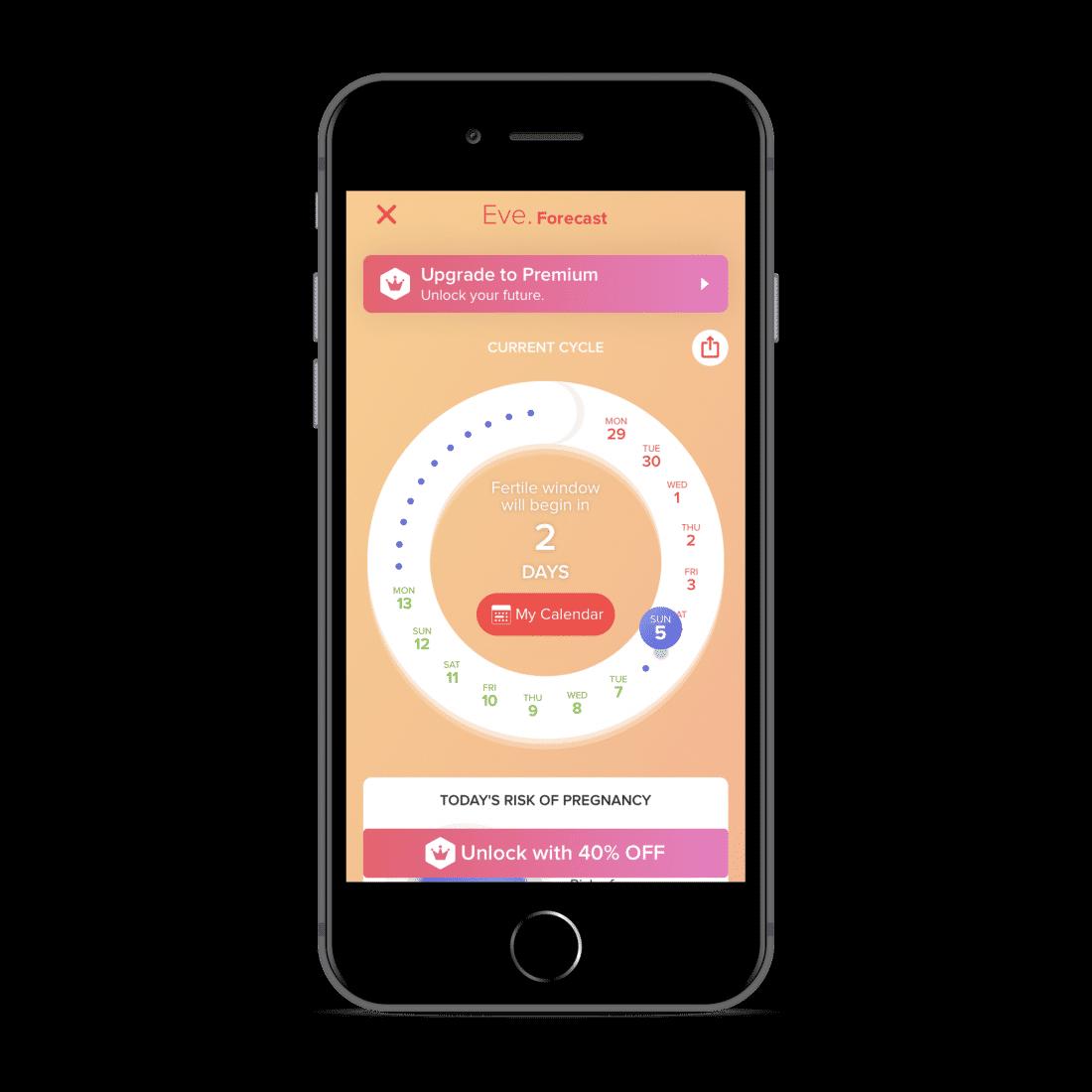 EVE menstruatie app