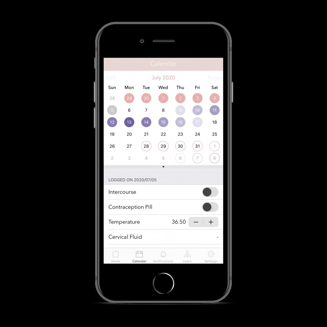 PERIOD. menstruatie app